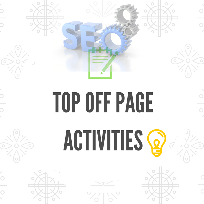 top off page activities
